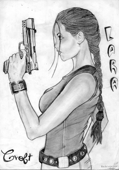 Angelina Jolie by Cassiope